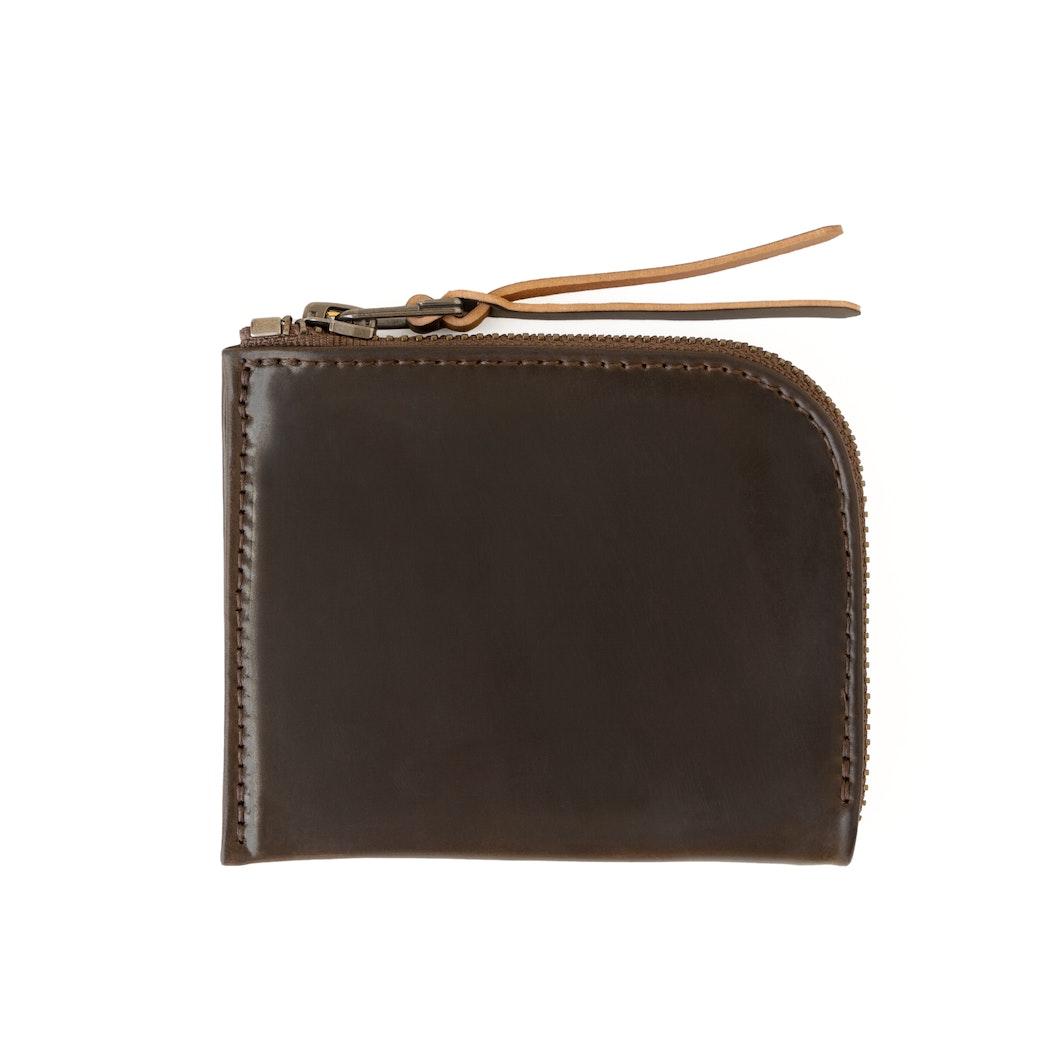 MAKR - Revised Cordovan Zip Wallet - Made in USA