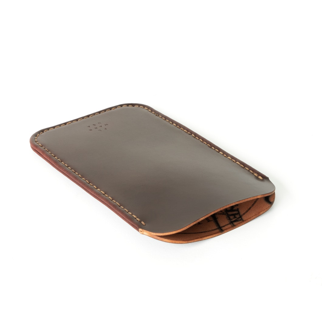 MAKR - Cordovan iPhone Sleeve - Made in USA