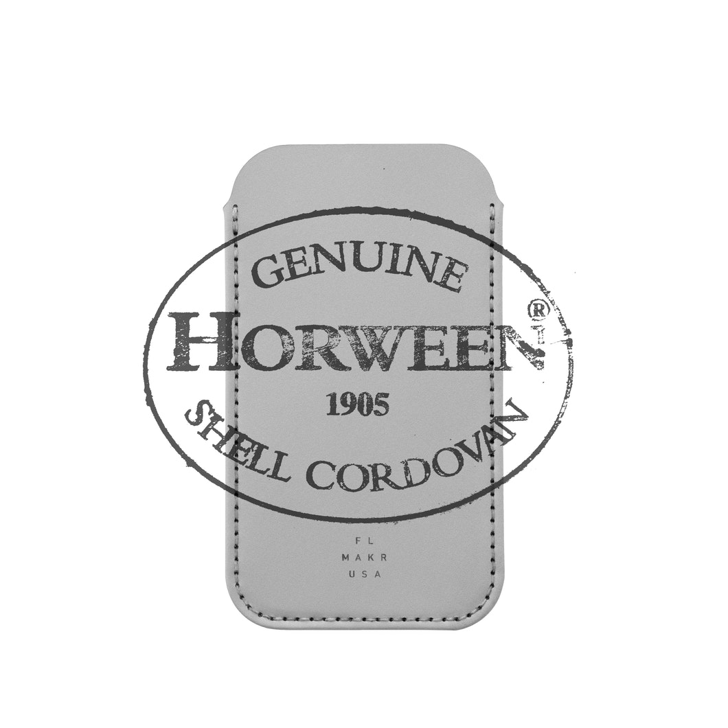 MAKR - iPhone SE / 7 / 8 Sleeve Cordovan - Made in USA